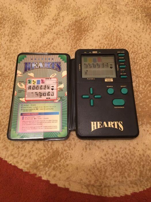 Joc de carti electronic Hearts (Inimi) RadioShack 60-2667