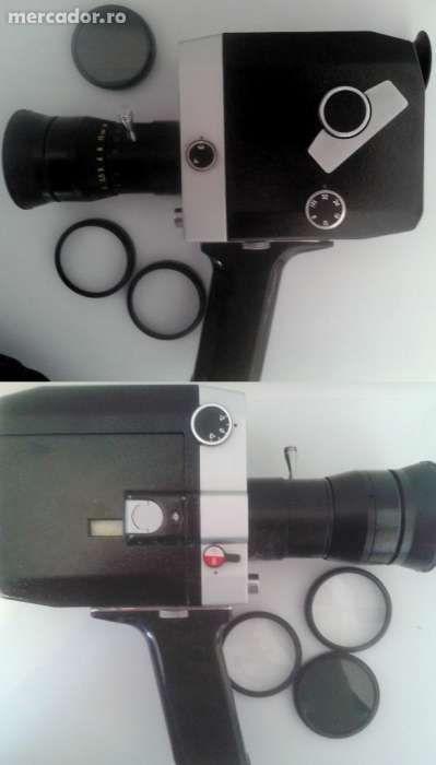 CAMERA DE FILMAT 8mm - QUARZ - 1X8S-2 sau Pachet Vintage Complet