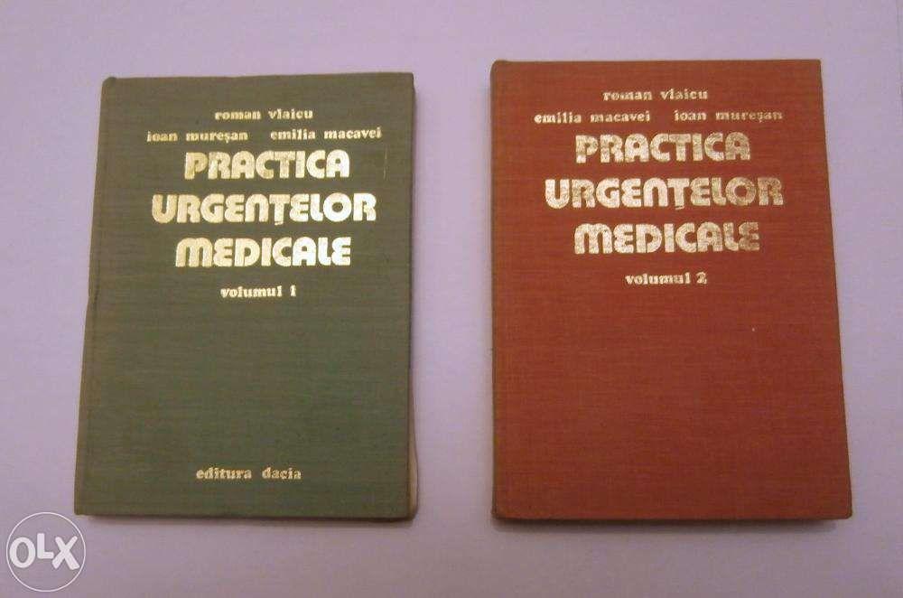 Practica urgentelor medicale vol. 1 & 2 (Roman Vlaicu, 1978)