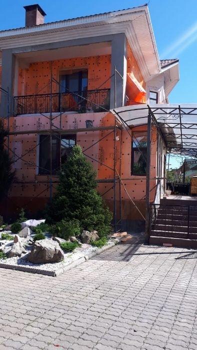 Утепление стен домов, квартир, зданий Алматы.