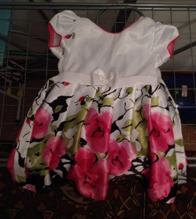 Красивое платье на девочку до 6 лет