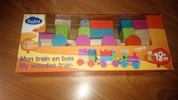 Trenuleț lemn