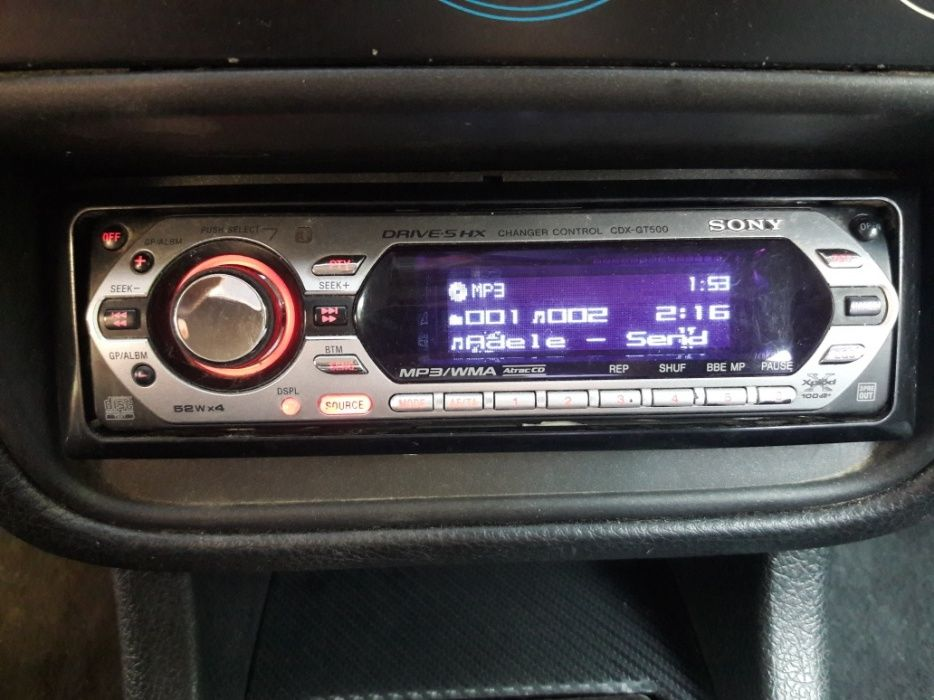 Cd-player auto Sony Xplod CDX-GT500