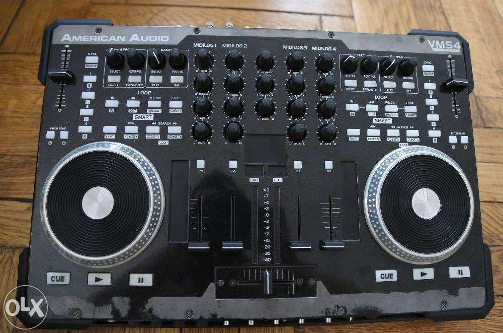 Consola DJ American Audio VMS4