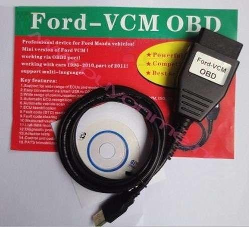 Interfata diagnoza Cablu Tester Scaner Ford VCM OBD2 FoCOM pana la2011