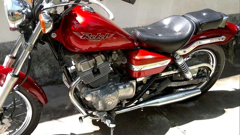 Moto Honda rebel