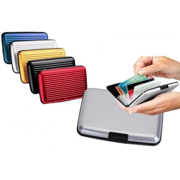 -50%Практична Алуминиева кутия за документи/визитки може и ПАРИ