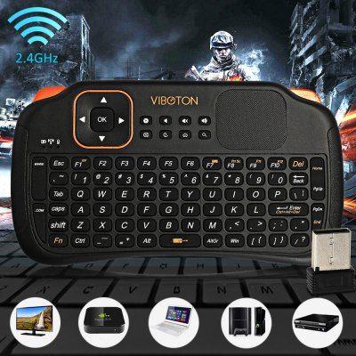 Telecomanda wireless cu tastatura mouse acumulator VIBOTON 2.4Ghz Bucuresti - imagine 1