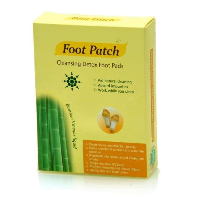 "Plasturi detoxifiere ""Detox foot patch"", 10 bucăți"