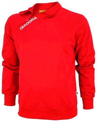 Cadoul ideal bluza DIADORA xl ROSU poliester trening fotbal -NOUA
