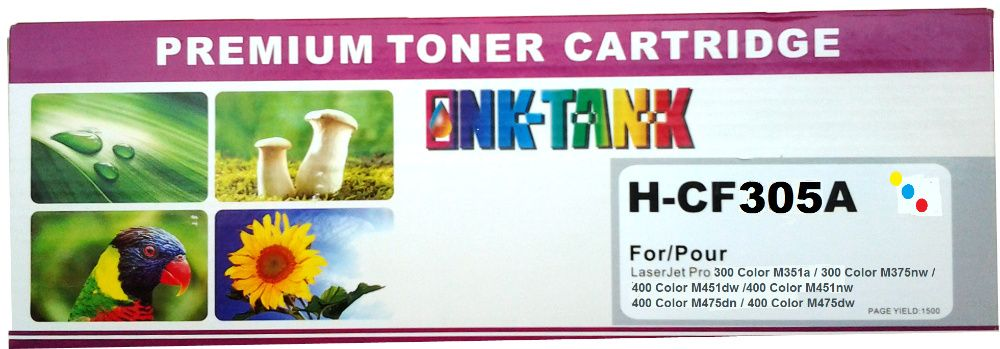 Toner HP 305A Color - CE411/2/3A Compatível