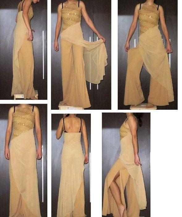 Официален дамски гащеризон, чанта, обувки и шал