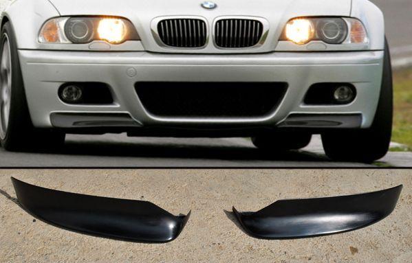 сплитери (тунинг добавки) за предна М броня за BMW E46 / Бмв Е46