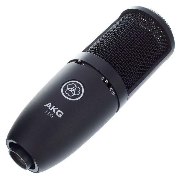 Microfone de estúdio profissional akg P120