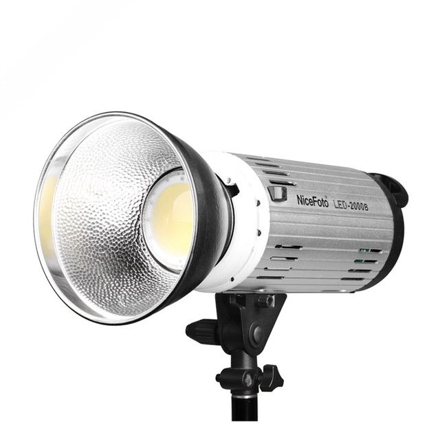 Lampa Led studio Nicefoto LED-2000B prindere Bowens, foto softbox