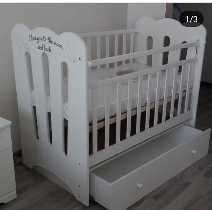 Детские кроватки. Матрас подарок.