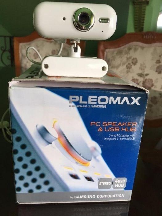 Boxa stereo Pleomax +Camera web
