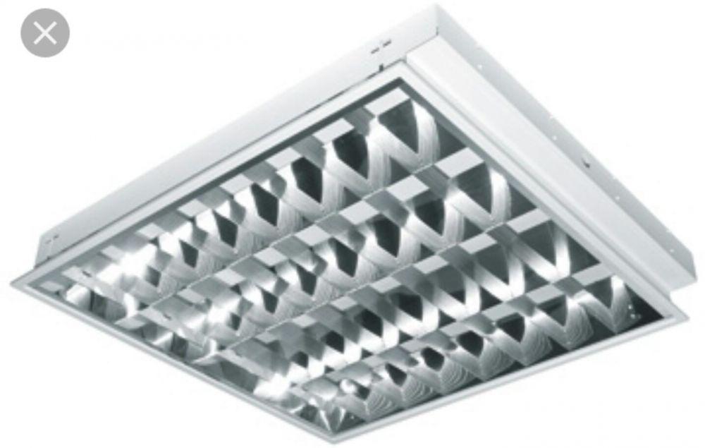 Lampa incastrata 4x18w pentru tavan fals - 20 lei - stare excelenta
