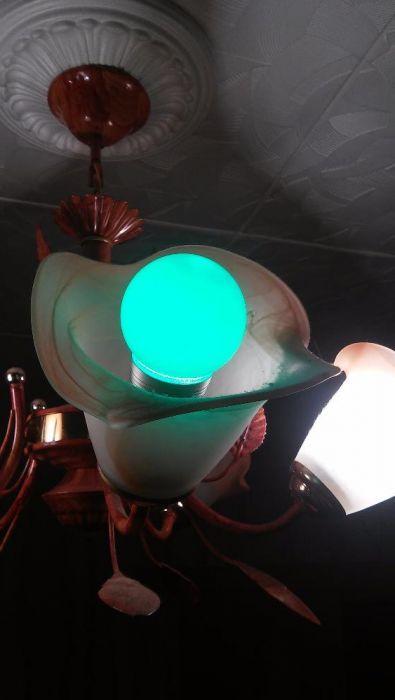Лампа с ИК пультом