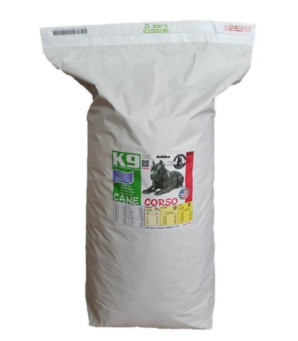 K9 PRO Cane Corso специализирана американска храна за Кане Корсо