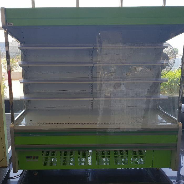 Mostruário Aberto Clea 1350 L Verde - Arca Frigorifico