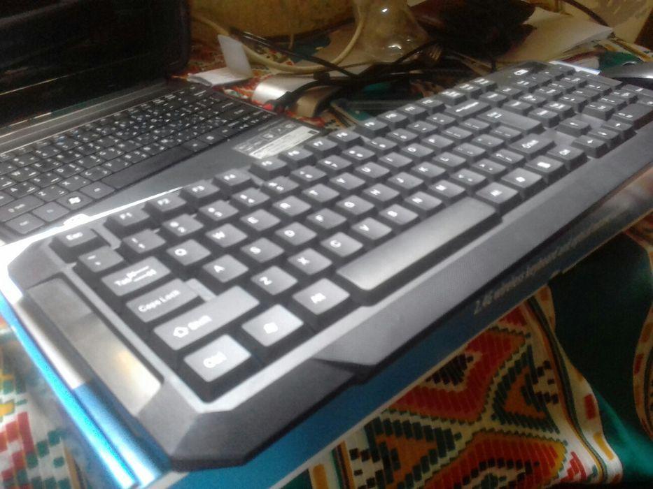 Kit de teclado e mouse wireless Maputo - imagem 8