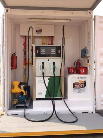 Vendo Bombas de Combustível Móvel Contentorizado Contentor Contentorio