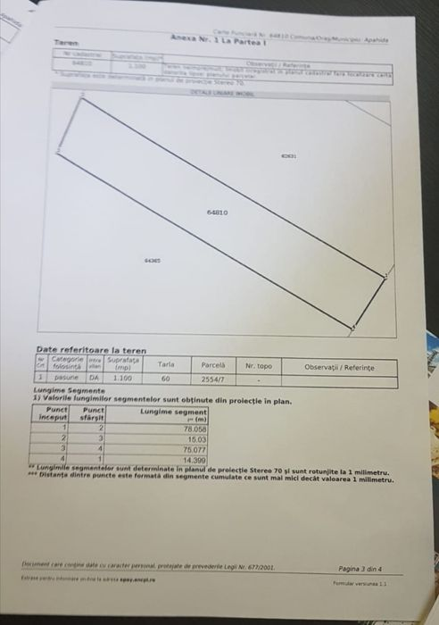 Vanzare  terenuri constructii Cluj, Sannicoara  - 86000 EURO