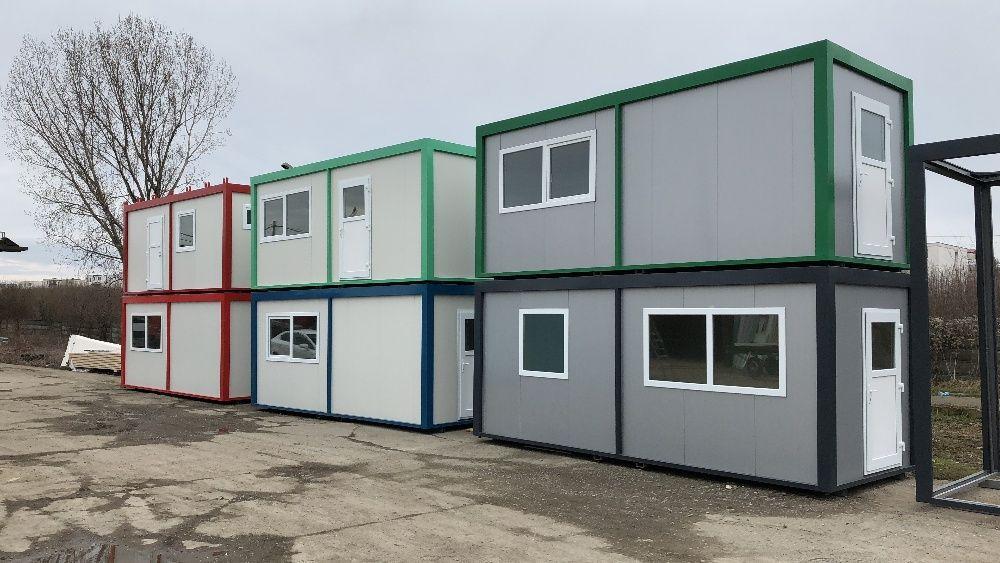 containere organizare santier birouri dormitoare izolate neizolate noi