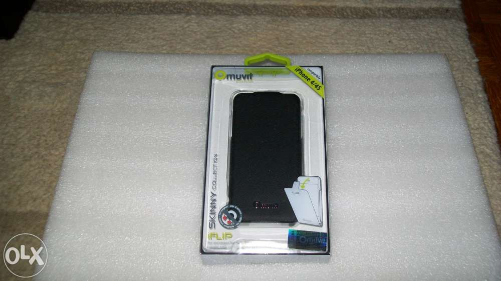 Husa toc Muvit Flip Iphone 4/4S