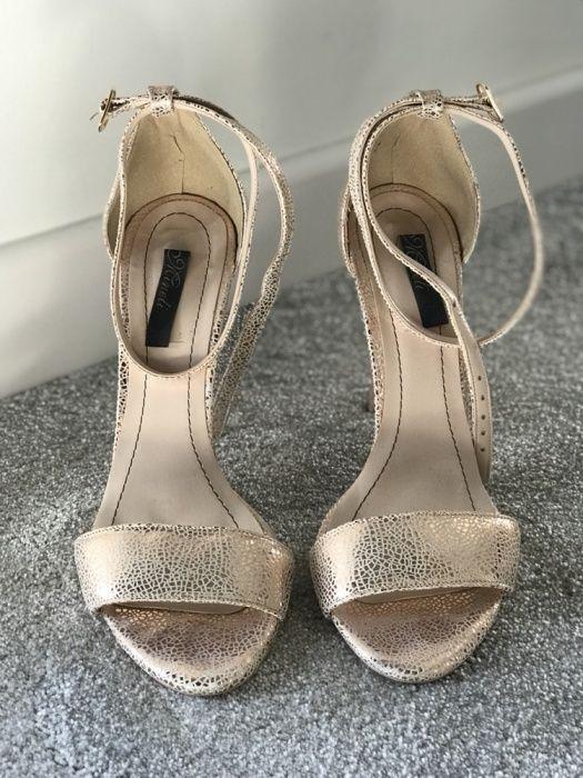 Sandale aurii, piele, Minelli, 39