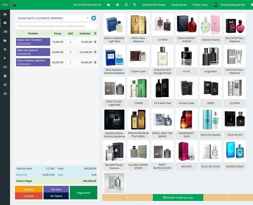 Sistema de gestão Comercial