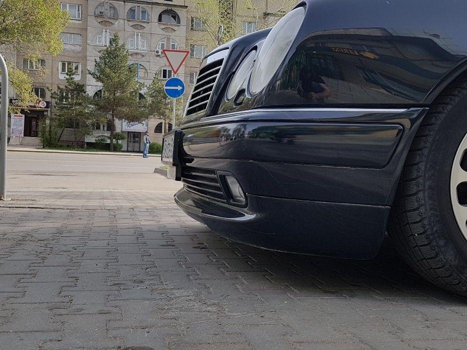 Губа на бампер W210 WALD Executive