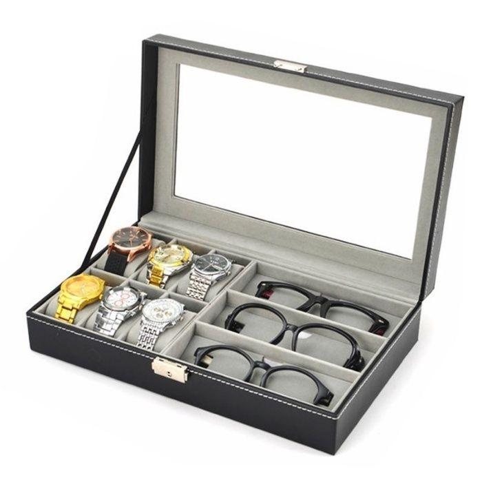 Caseta depozitarea ceasuri bratari sau bijuterii editie LUX