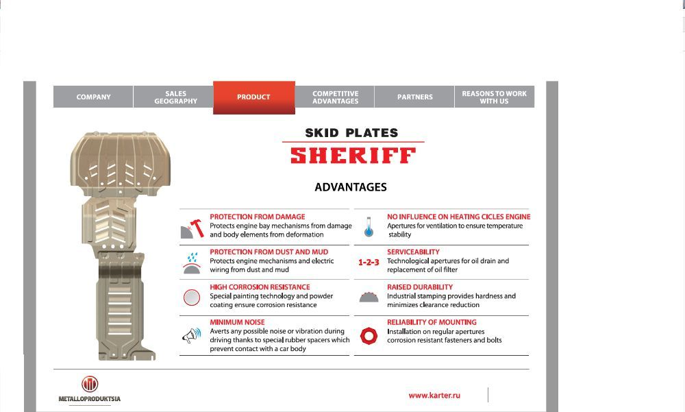 Scut motor SHERIFF - Honda Accord, Civic, CRV, HRV, Jazz, Acura, FRV
