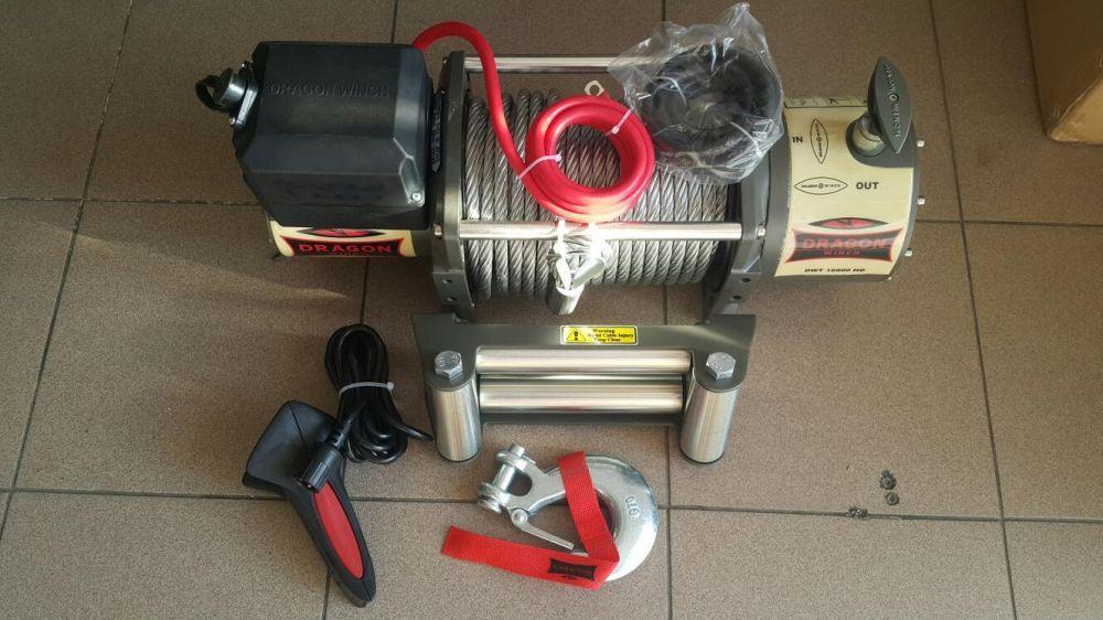Troliu electric nou DRAGONWINCH 16800lbs-7620kg la 12 v