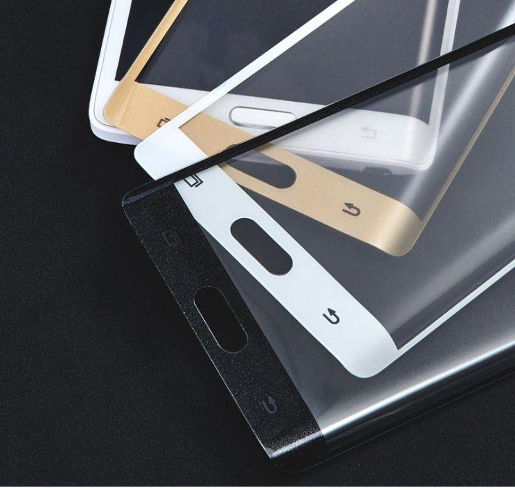 Folii pentru SAMSUNG, 5D BLACK Full Glue duritate 10H