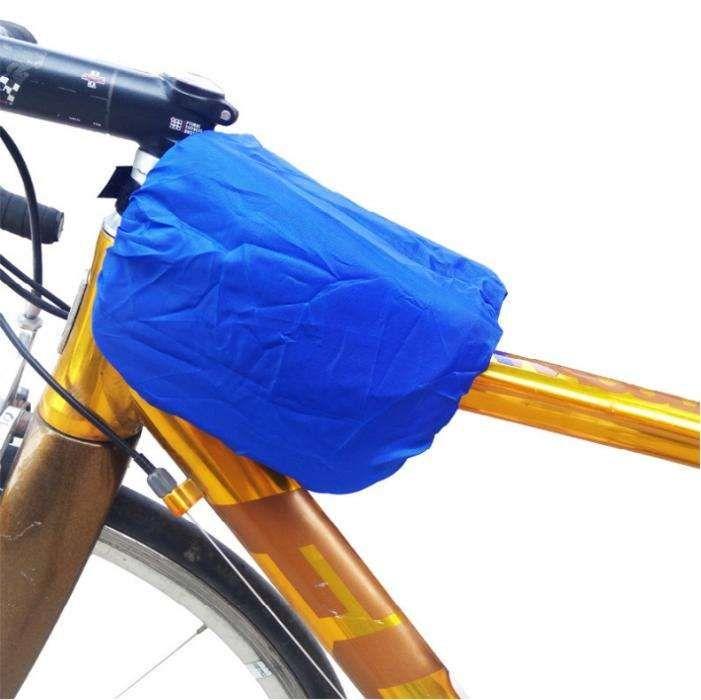 Husa ploaie elastica impermeabila borseta geanta bicicleta