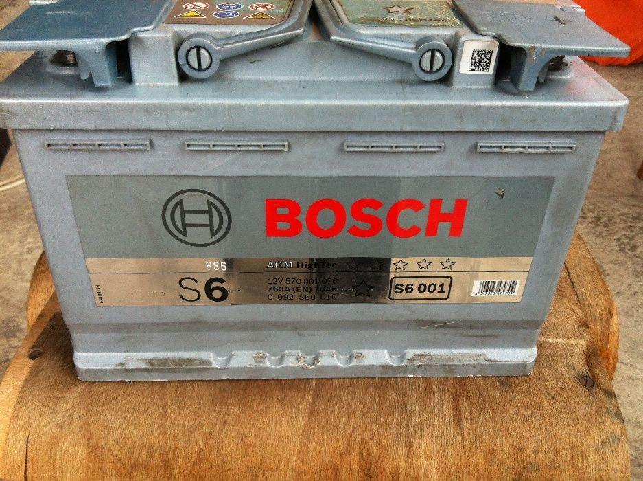 гелов акумулатор 70 ач,бош,гаранция,доставка,перфектен