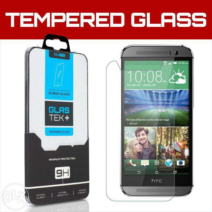 SOJITEK HTC One M8s Premium Ballistic Tempered Glass Screen Protector
