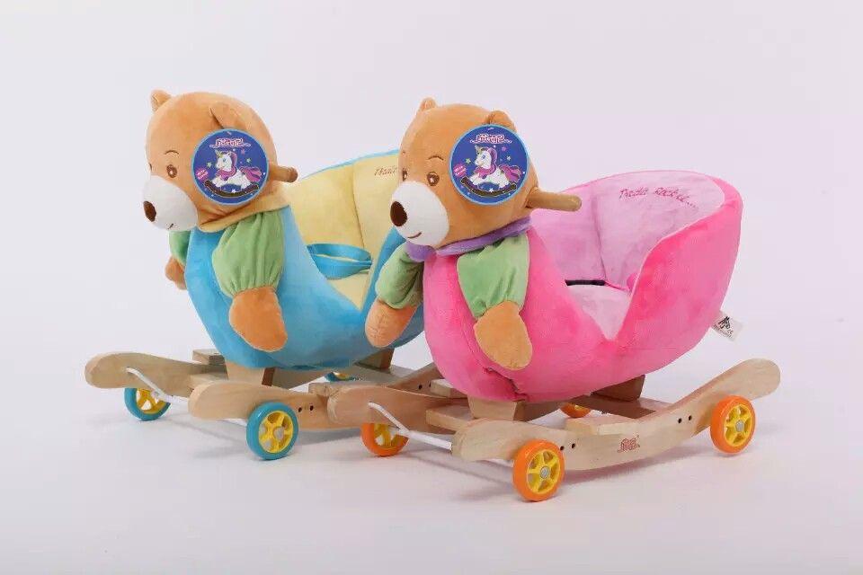 Carucior si balansoar pt.copiii,un cadou minunat,lemn si plus calitate