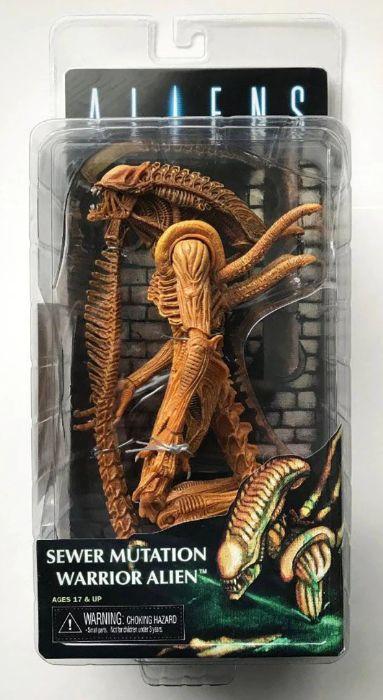 Figurina Alien Xenomorph 18 cm NECA Sewer Mutation Warrior