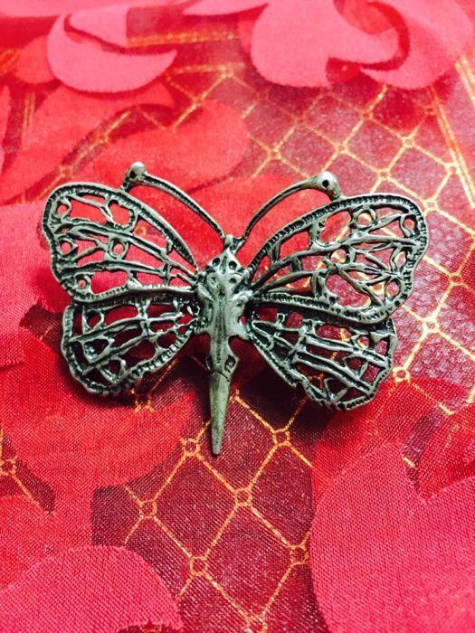 Vand figurină bijuterie argint Fluture