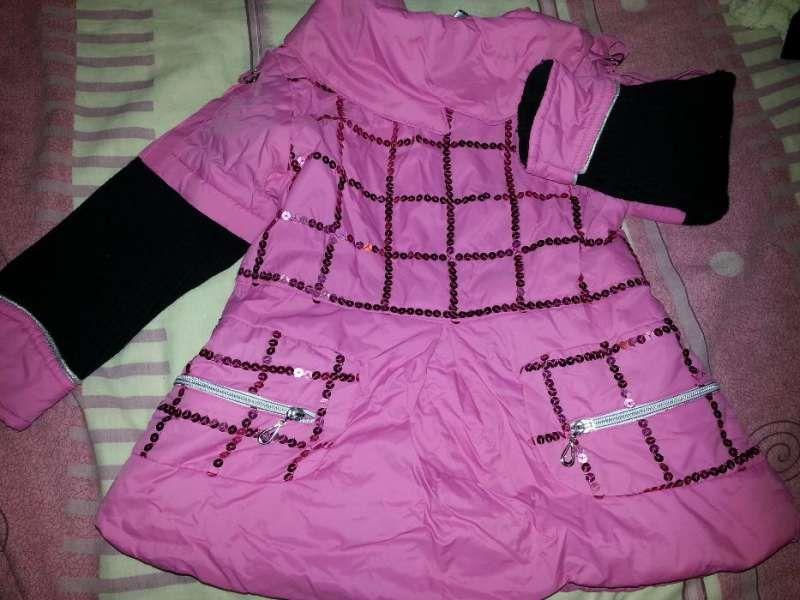 Топли якенца за малка дама и нова пижамка, дрешки 116-122