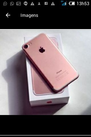 Telefone iphone 6s novo a venda