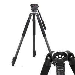 Trepied profesional JY0510C + cap video JY0606H tip manfrotto 165 cm .