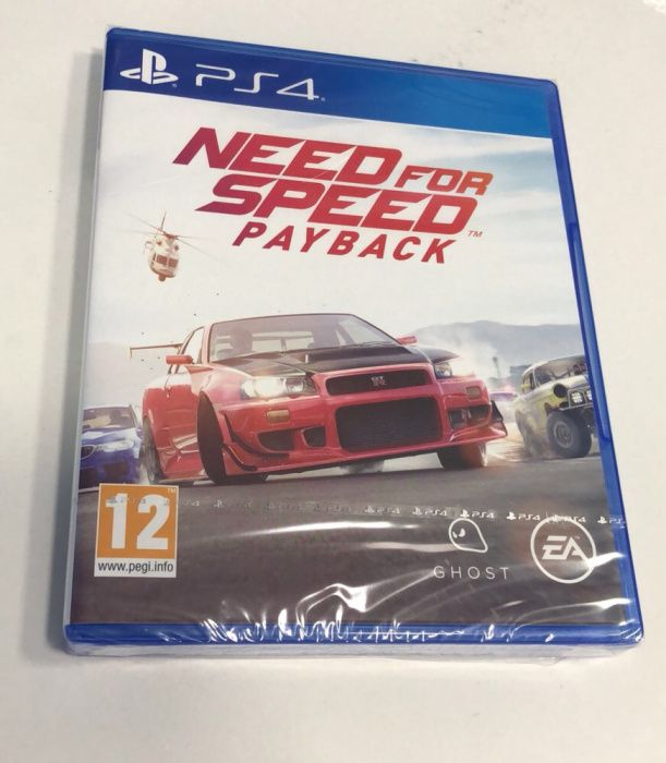 Jogo Ps4 Need for speed pay back