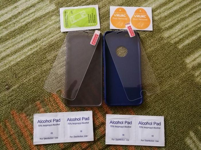 Pachet huse și folii de sticla pt iPhone 6/6s