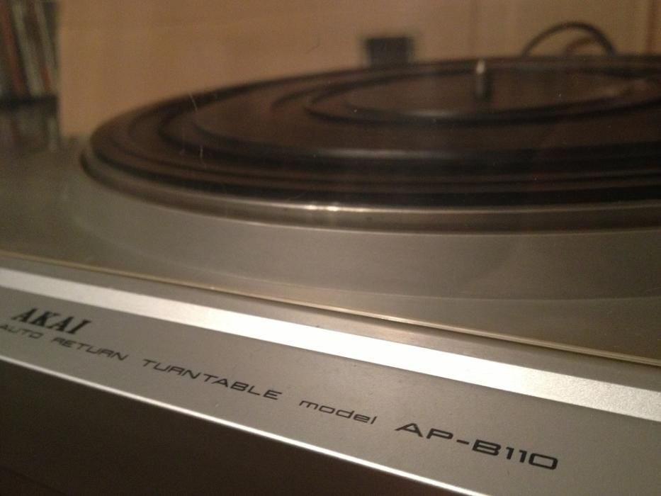 Pick-up Stereo HiFi marca AKAI AP-B110 - stare Perfecta/made Japan