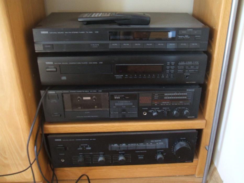 Amplificator / CD player / Cassette / Tuner YAMAHA NATURAL SOUND